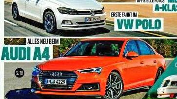 2018 - [Audi] A4 restylée  20170410