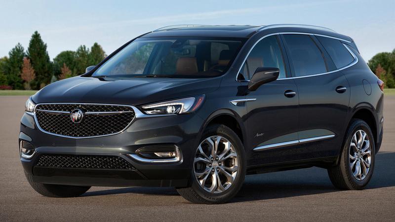 2017 - [Buick] Enclave II 2018-b18