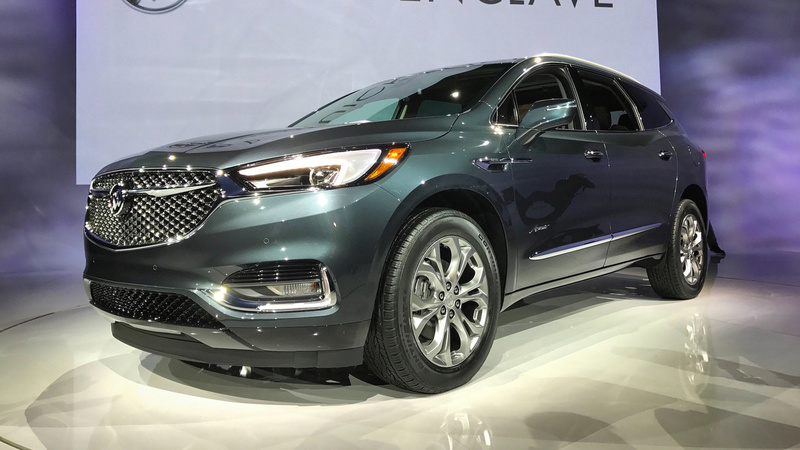 2017 - [Buick] Enclave II 2018-b22