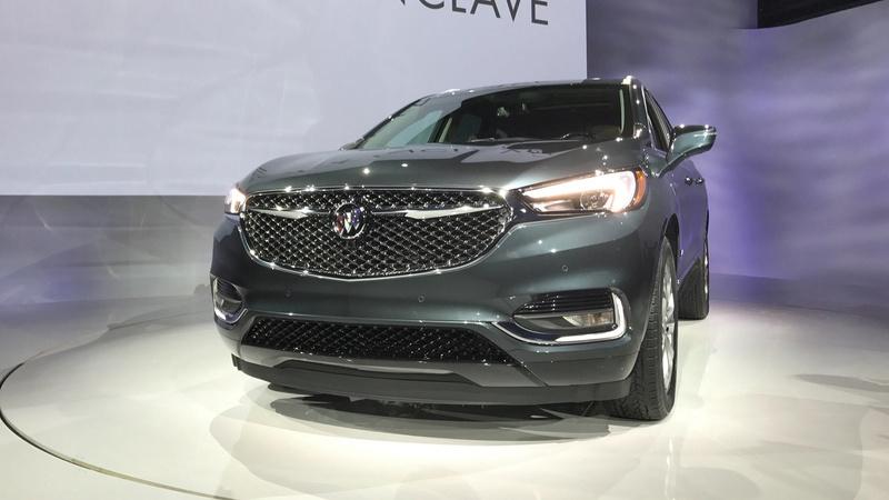 2017 - [Buick] Enclave II 2018-b23