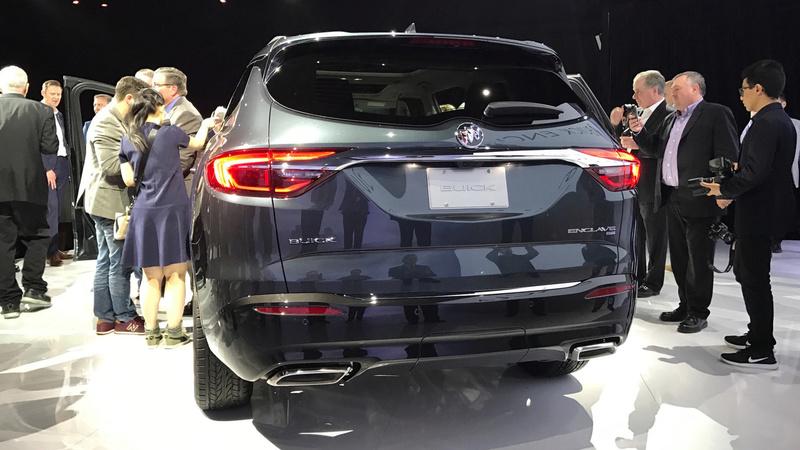 2017 - [Buick] Enclave II 2018-b26