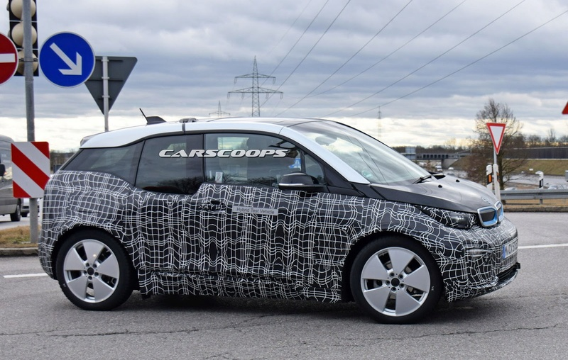 2017 - [BMW] i3 restylée 2019-b14