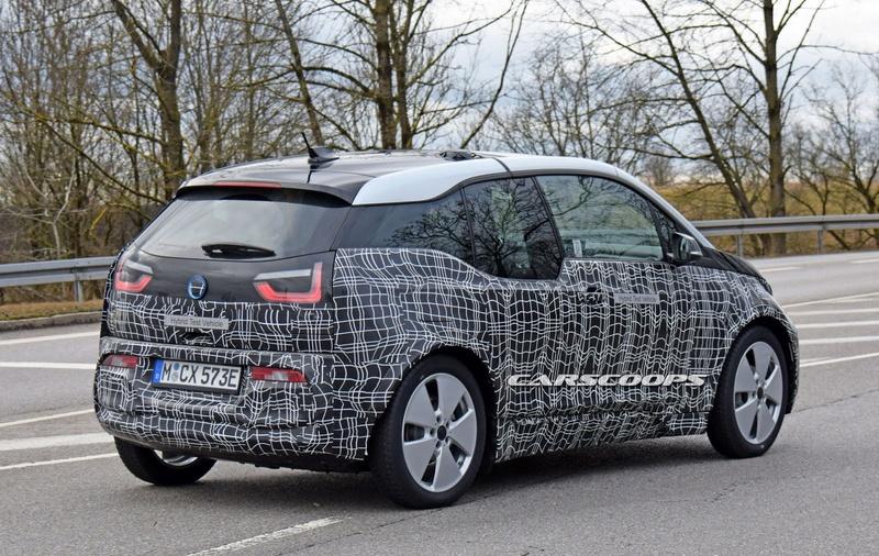 2017 - [BMW] i3 restylée 2019-b16
