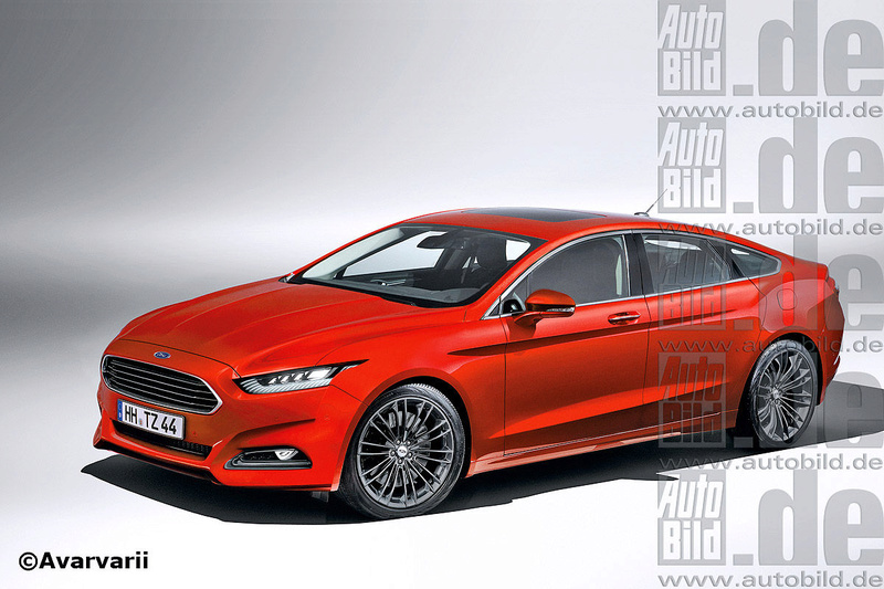 2018 - [Ford] Mondeo/Fusion V Ford-n10