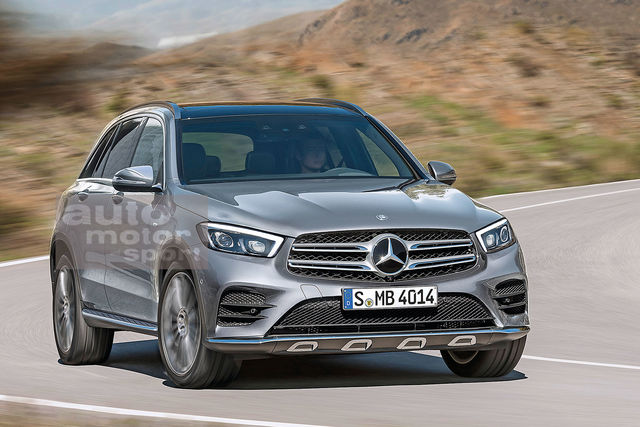 2018 - [Mercedes-Benz] GLC/GLC Coupé restylés Merce217