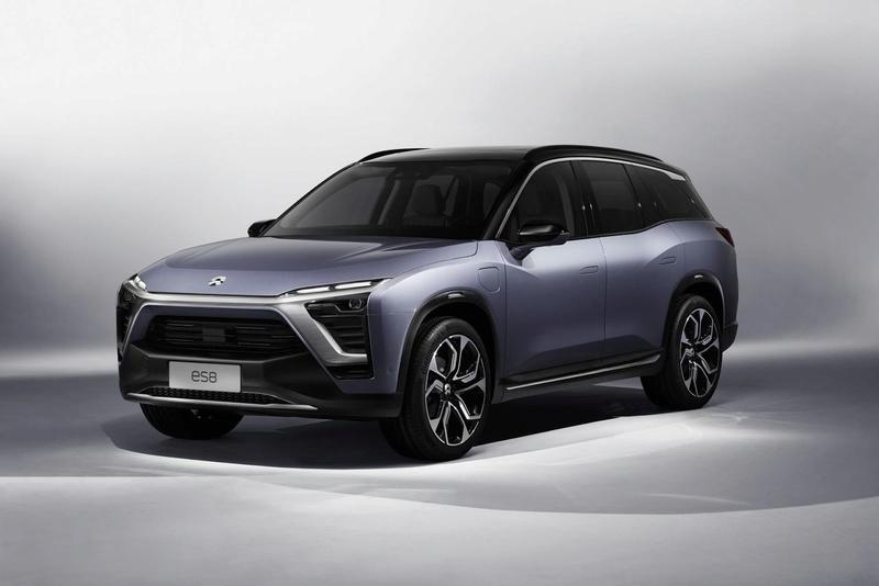 2017 - [Chine] Salon Auto de Shanghai  Nio-es10