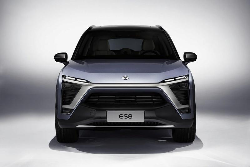 2017 - [Chine] Salon Auto de Shanghai  Nio-es11