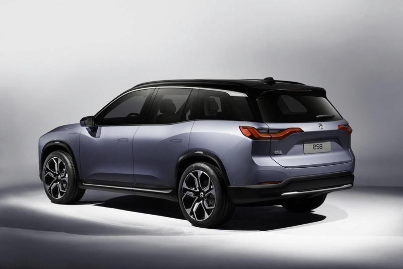 2017 - [Chine] Salon Auto de Shanghai  Nio-es12