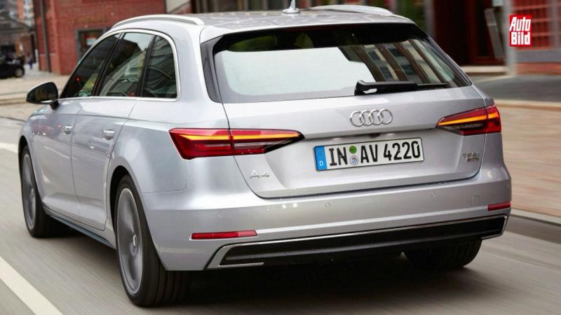2018 - [Audi] A4 restylée  Screen12