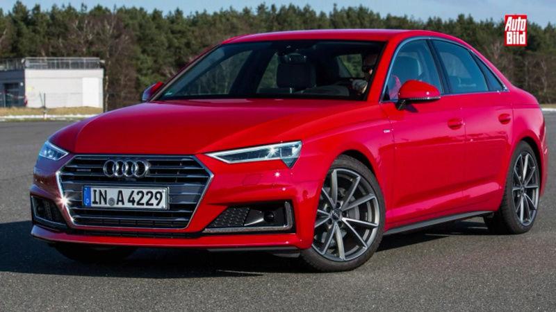 2018 - [Audi] A4 restylée  Screen13