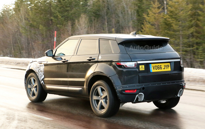 2018 - [Land Rover] Range Rover Evoque II Second17