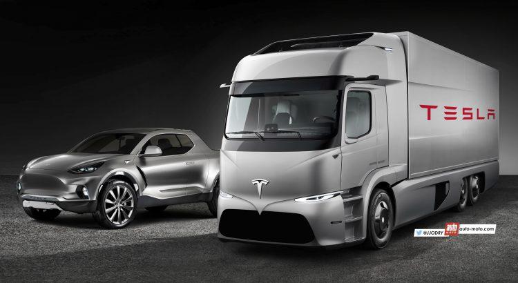 2018 - [Tesla] Pick-up  Tesla-11