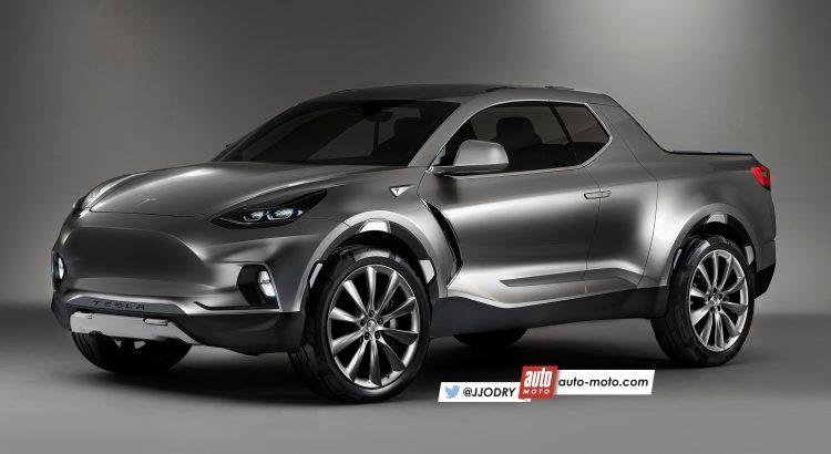 2018 - [Tesla] Pick-up  Tesla-12