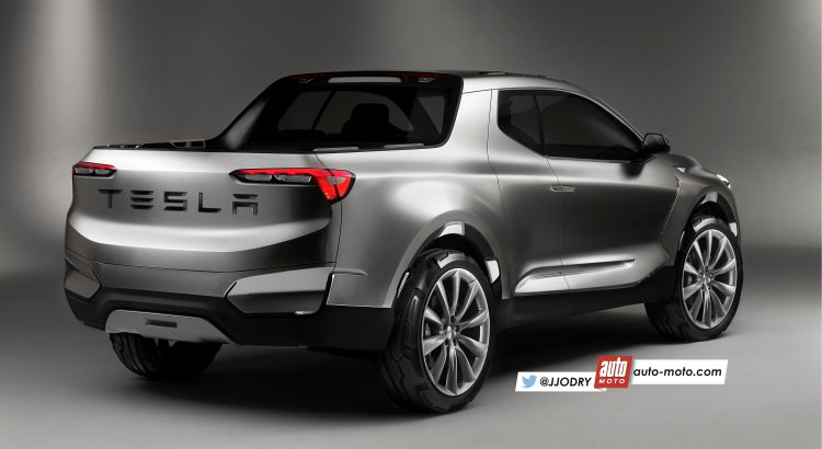 2018 - [Tesla] Pick-up  Tesla-13