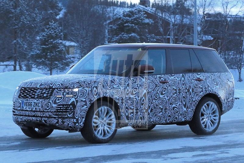2017 - [Land Rover] Range Rover/ Sport/ SVR restylés Tqxy6210