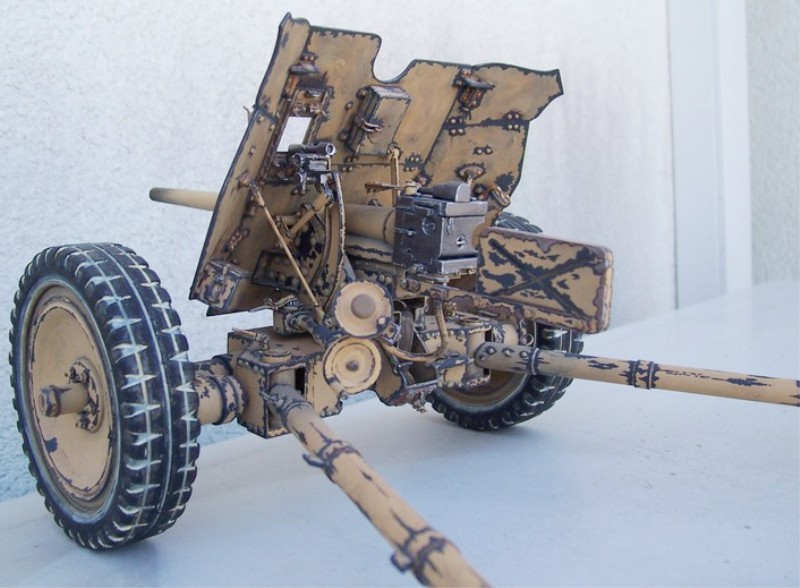Canon allemand 3,7 cm. Pak 36 411