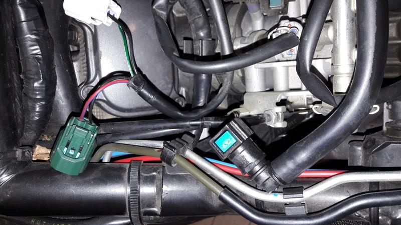 dépose du réservoir essence version ABS 20170328