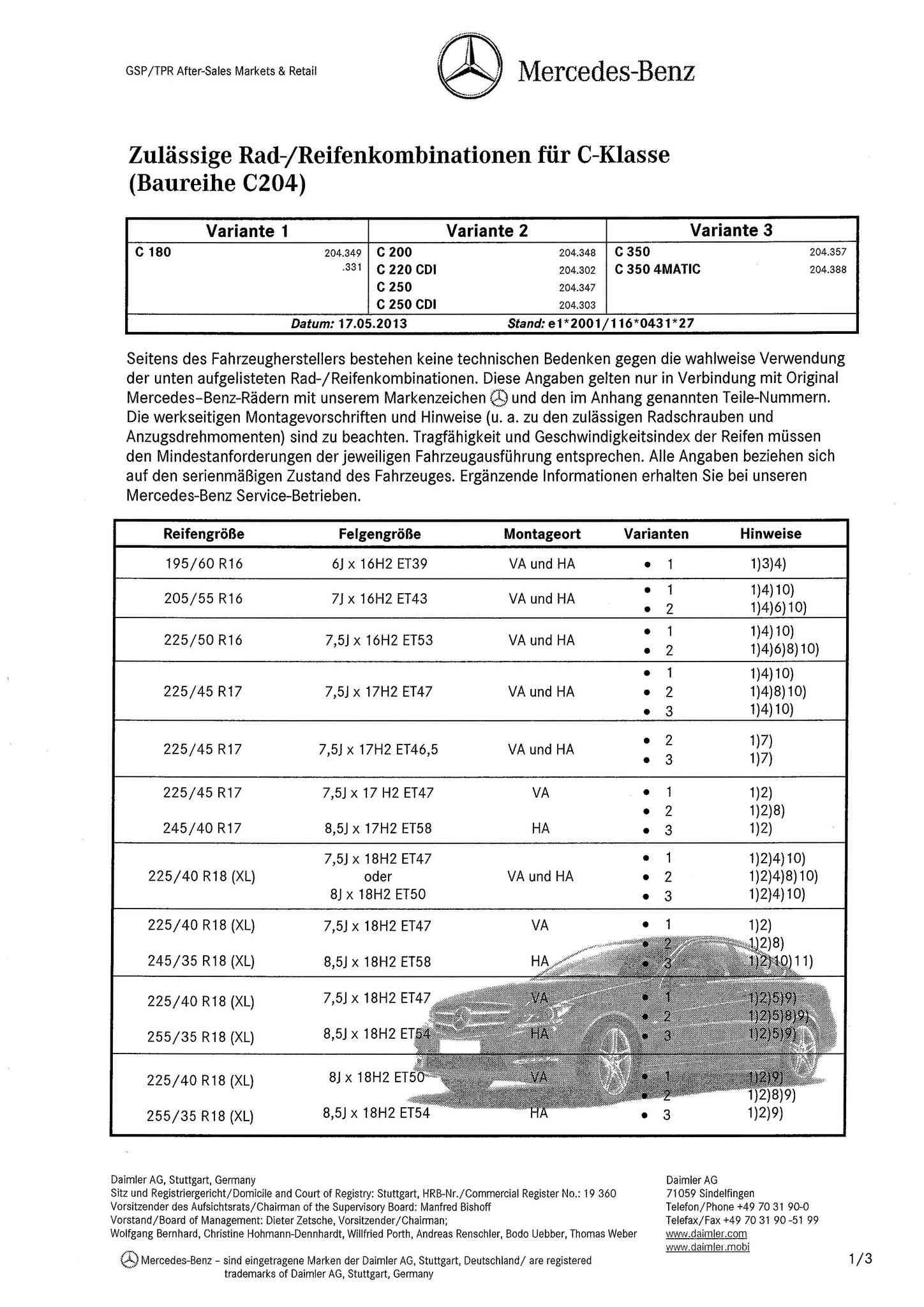 (C/S/W204): Medidas oficiais das rodas e pneus 0001_122