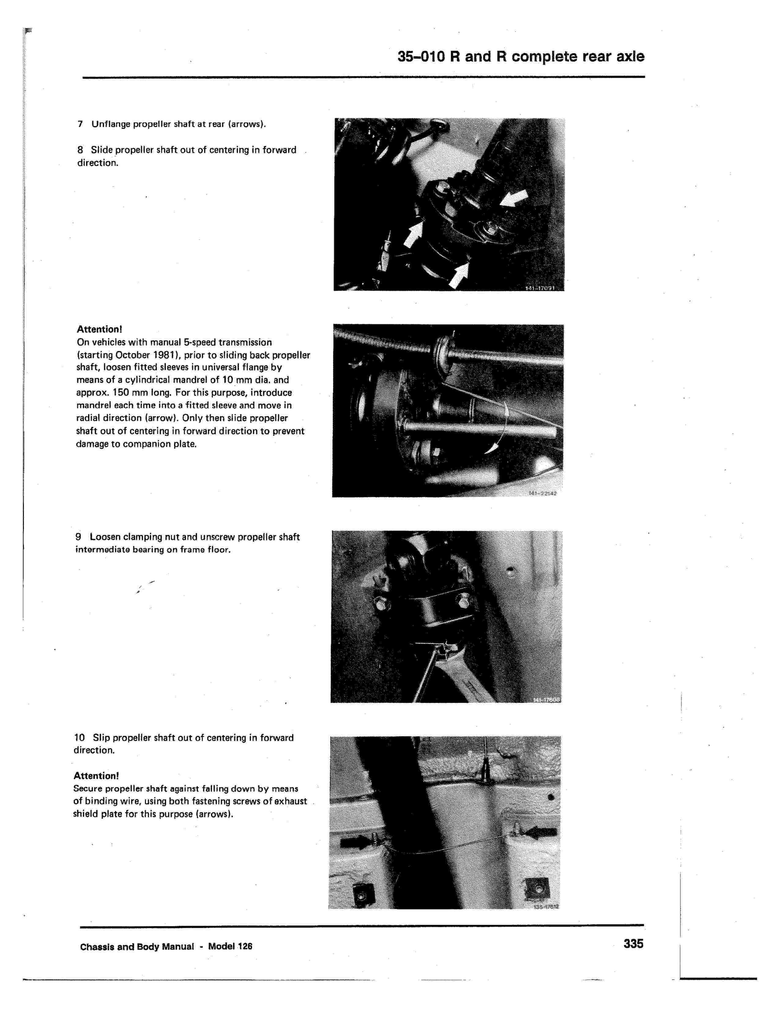 (W126): Diagrama completo da suspensão traseira  0003_534