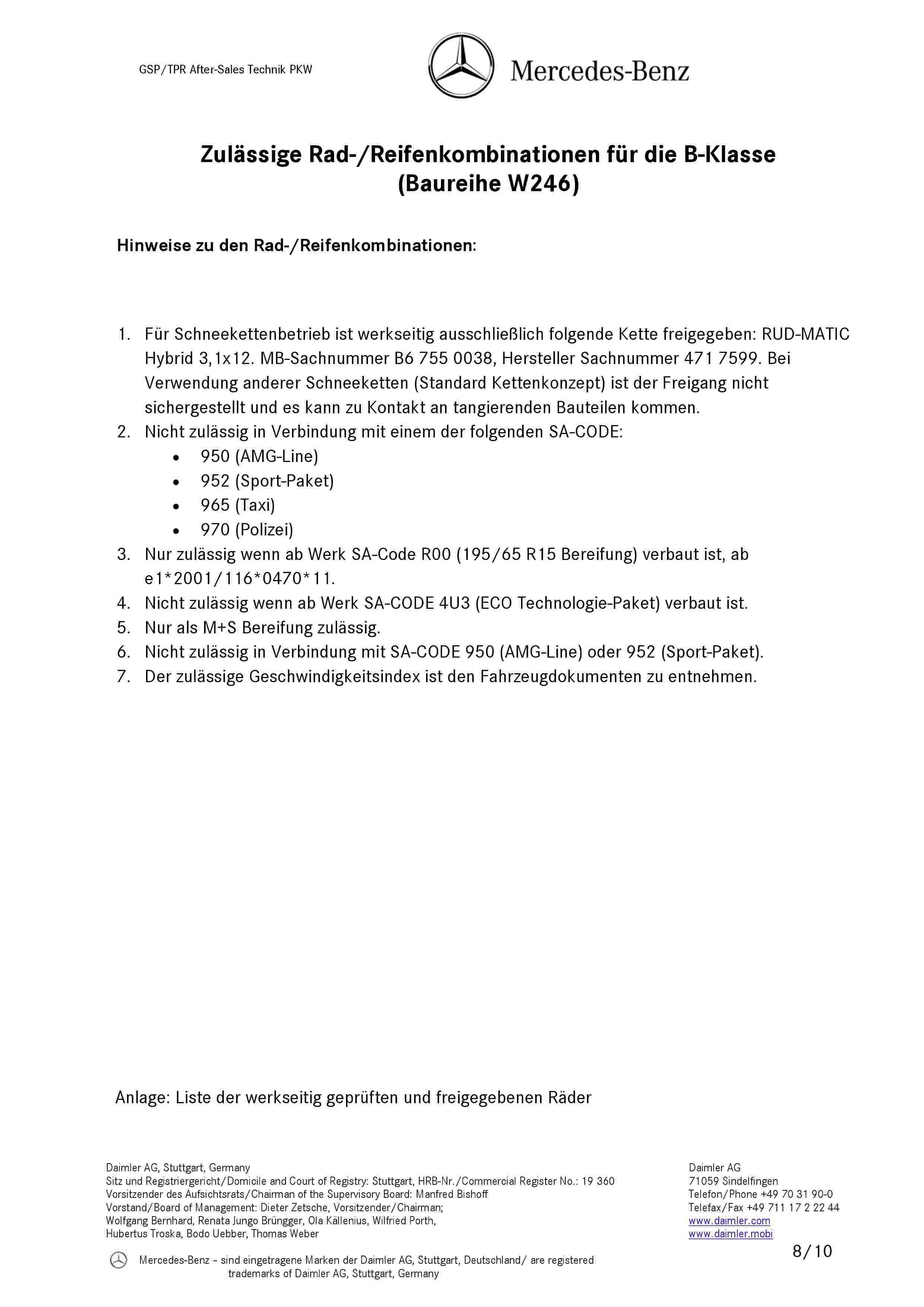(W246): Medidas oficiais das rodas e pneus 000810