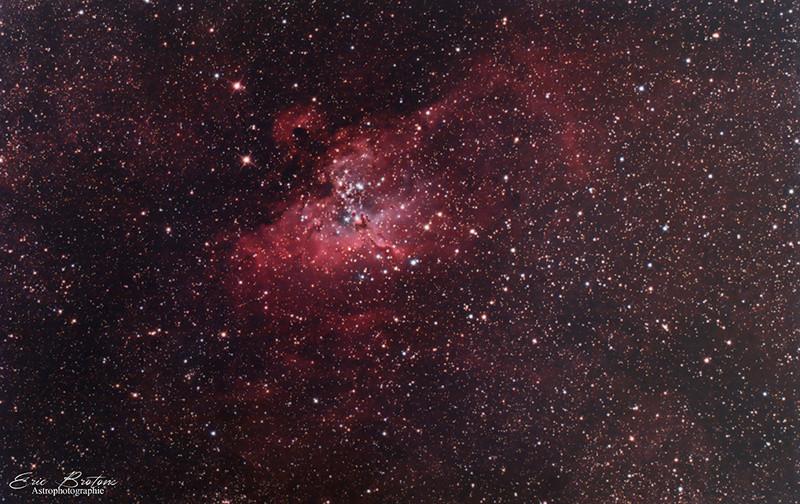 IC 4703 et M16 RVB et photo de notre soirée .  M16_210