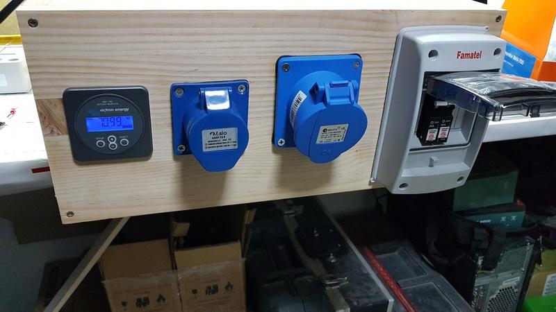 Bateria de litio 72v 140a 10kw 20170426