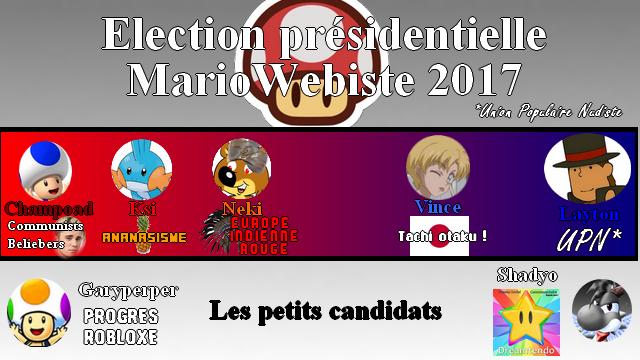 [Fic] Les Elections Présidentielles MarioWebiste 2017 Epmari11
