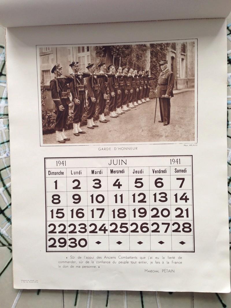 calendrier maréchal PETAIN_1941 en TTBE sorti de broc Img_0724