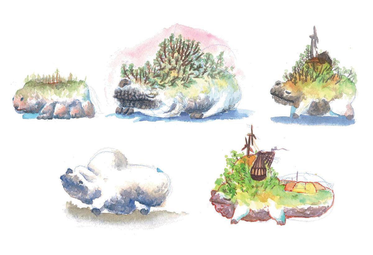 IM challenge 6-5 : Maquettes d'animaux maison Aquare12