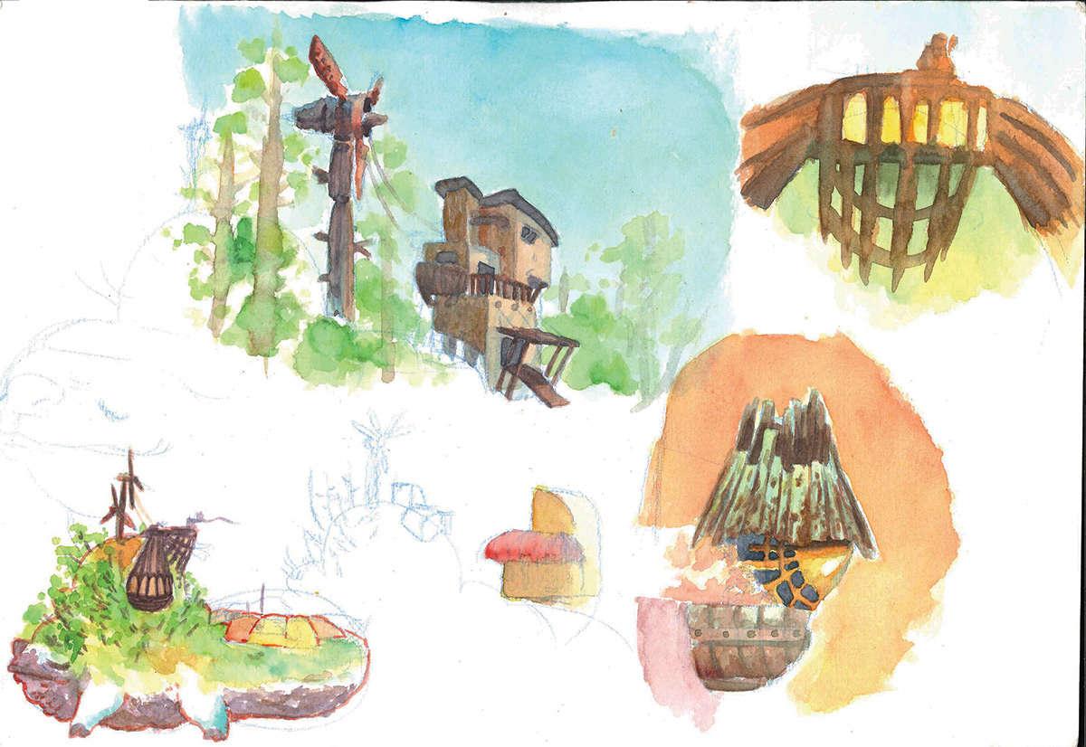 IM challenge 6-5 : Maquettes d'animaux maison Aquare13