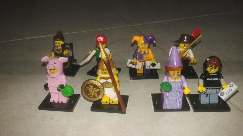 Lego minifigure serie 12 completa 20170310