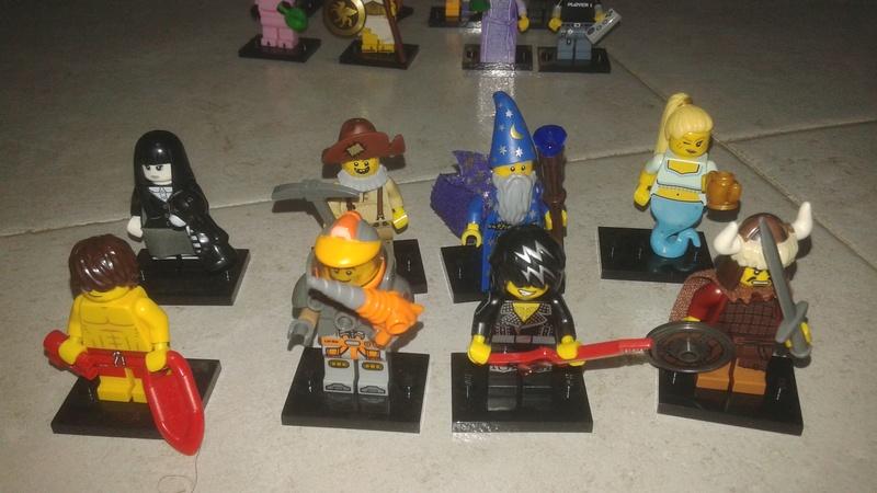 Lego minifigure serie 12 completa 20170311