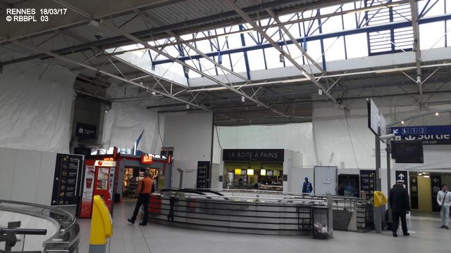 Point avancement travaux gare de Rennes [18/03/2017] 20170337