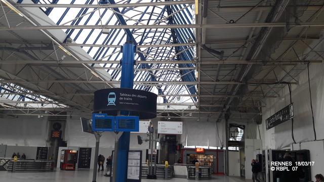Point avancement travaux gare de Rennes [18/03/2017] 20170341