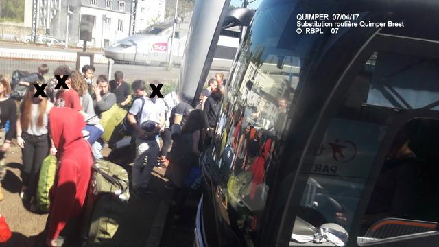 De Quimper à Landerneau en car TER     07/04/2017 (GARAGE) 20170407