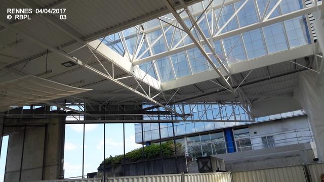 Point avancement travaux gare de Rennes  [03/04/17] 20170412