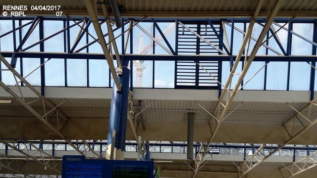 Point avancement travaux gare de Rennes  [03/04/17] 20170416