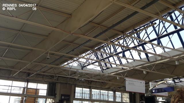 Point avancement travaux gare de Rennes  [03/04/17] 20170417