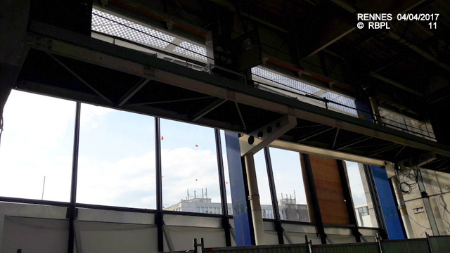 Point avancement travaux gare de Rennes  [03/04/17] 20170420