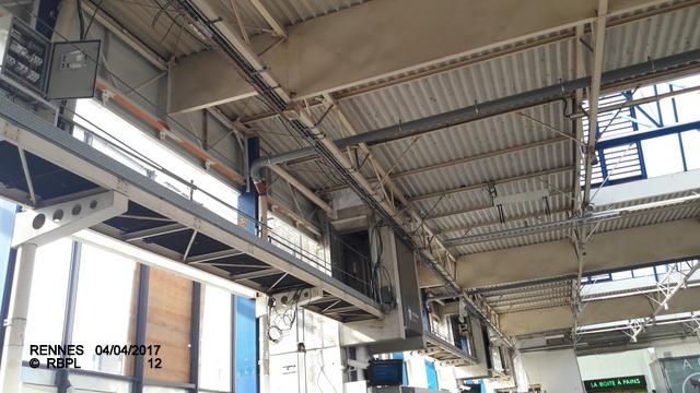 Point avancement travaux gare de Rennes  [03/04/17] 20170421
