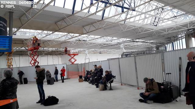Point avancement travaux gare de Rennes  [03/04/17] 20170435
