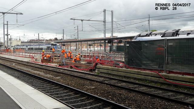 Point avancement travaux gare de Rennes  [03/04/17] 20170438