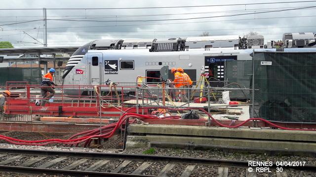 Point avancement travaux gare de Rennes  [03/04/17] 20170439