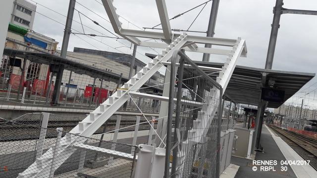 Point avancement travaux gare de Rennes  [03/04/17] 20170440