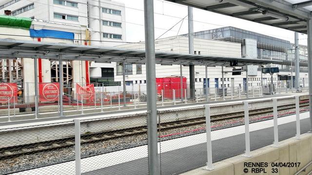 Point avancement travaux gare de Rennes  [03/04/17] 20170443