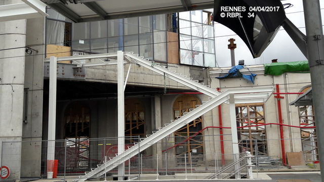 Point avancement travaux gare de Rennes  [03/04/17] 20170444