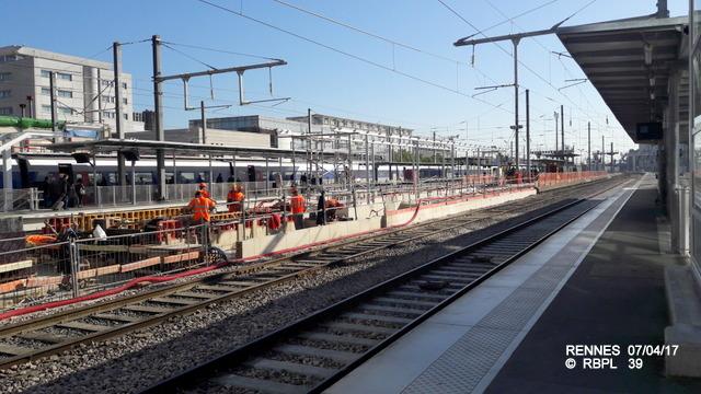 Point avancement travaux gare de Rennes  [03/04/17] 20170488