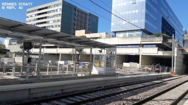 Point avancement travaux gare de Rennes  [03/04/17] 20170489