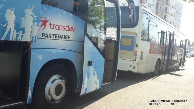 De Quimper à Landerneau en car TER     07/04/2017 (GARAGE) 20170510