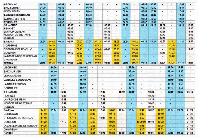 HORAIRES CADENCES TER NANTES ↔ LE CROISIC (07/2017) Scan-014
